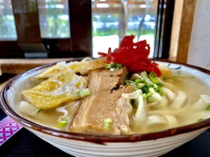 老舗の沖縄そば屋さん!まるみつ食堂(うるま市石川)