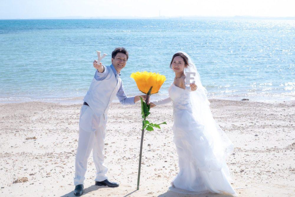【撮影レポート】白ドレスと白タキシードで爽やか&可愛く