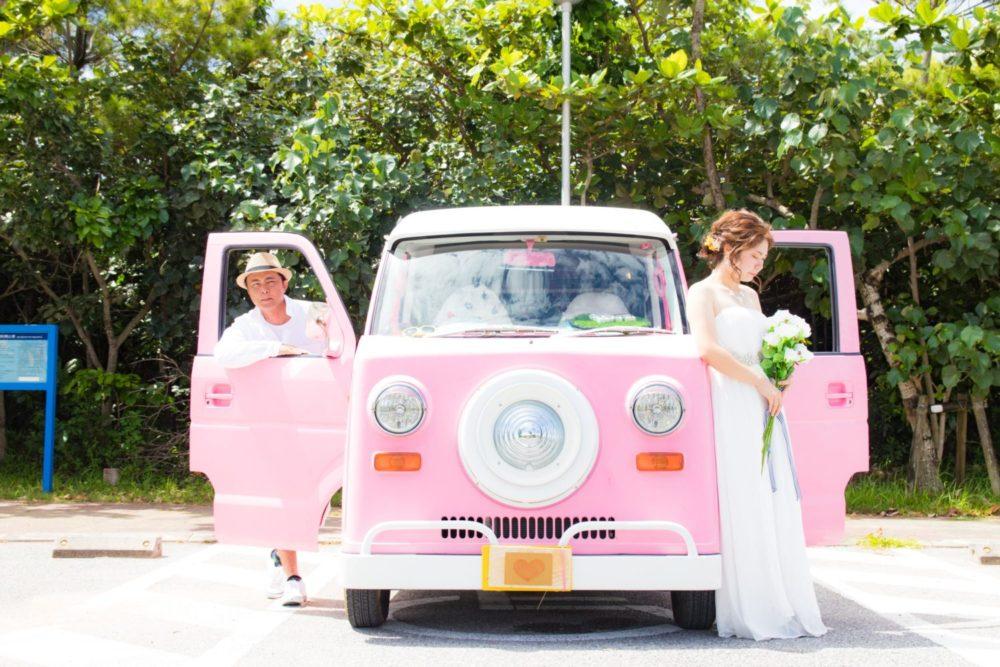 【撮影レポート】ピンクカーと一緒に♪