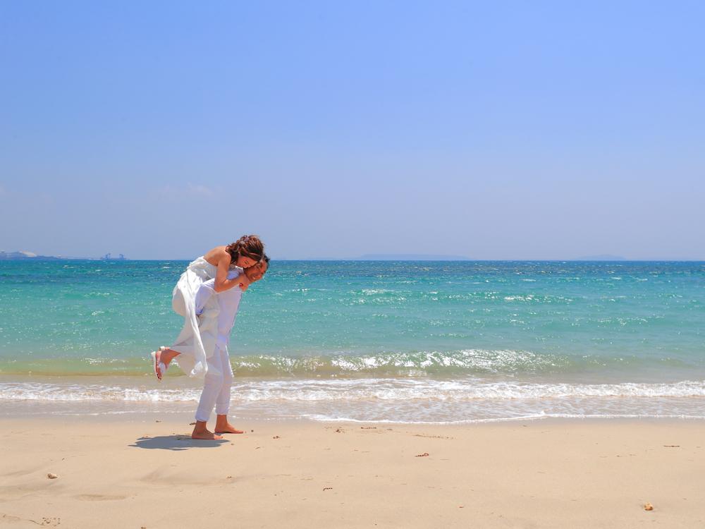【撮影レポート】沖縄を満喫!フォトウェディング&シュノーケリングプラン