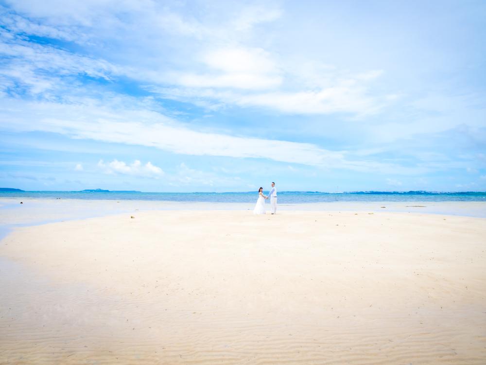 【撮影レポート】幻の砂浜でウェディング撮影