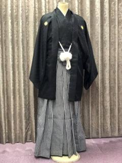 紋付羽織袴・黒