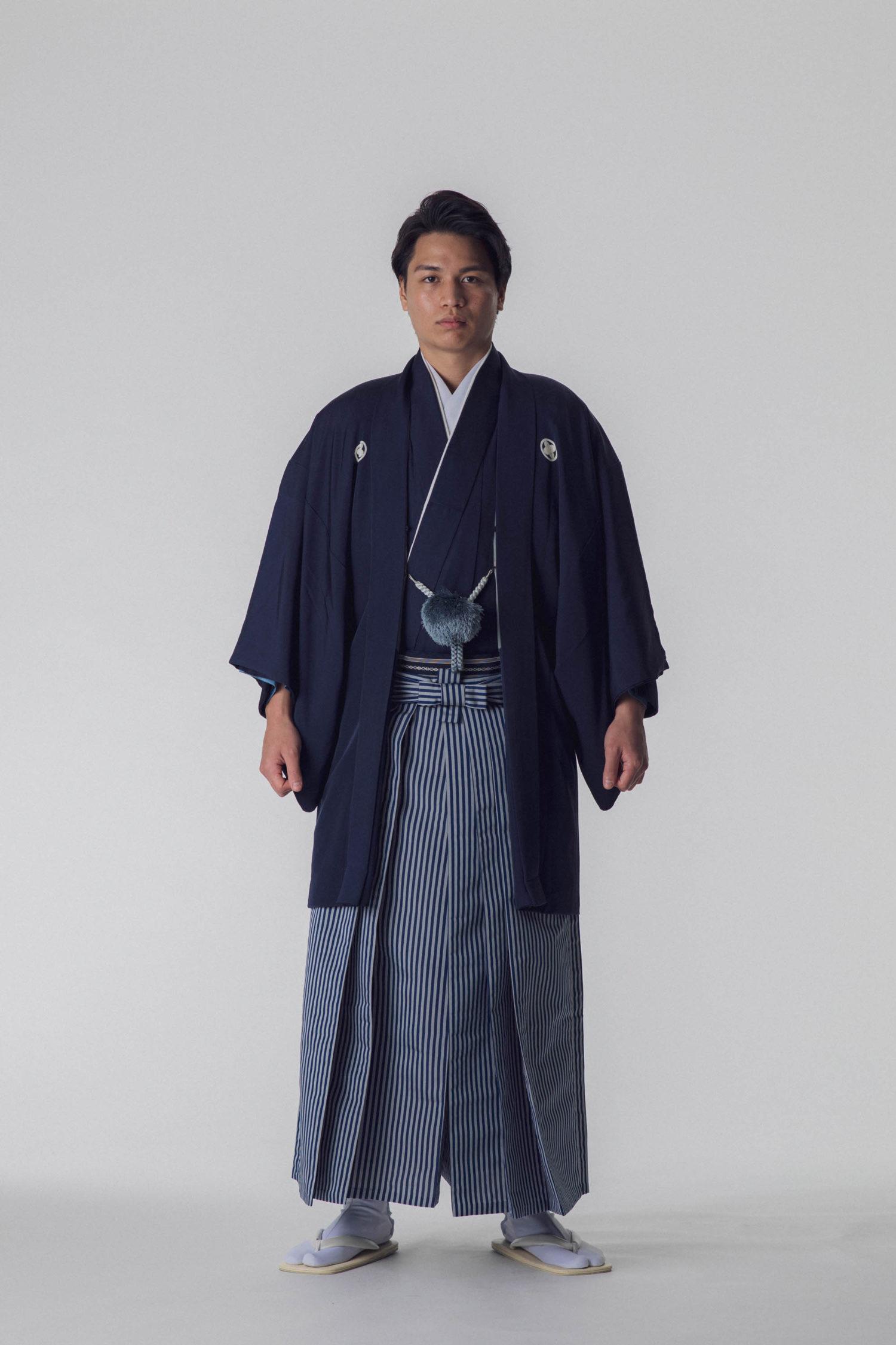 紋付羽織袴 黒