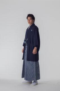 紋付 羽織袴 黒